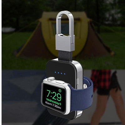 StructuredShop apple watch iCharge™ - Portable Wireless Charging Keychain For Apple Watch Apple Watch Series 1/2/3/4