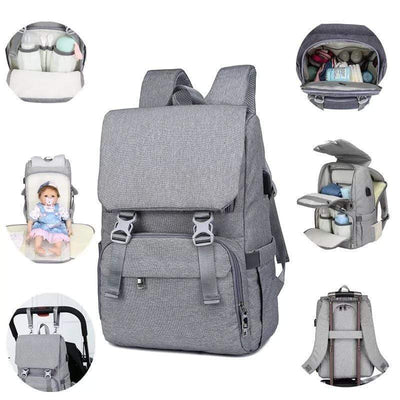 StructuredShop baby products All-In-One Diaper Bag With Changing Pad