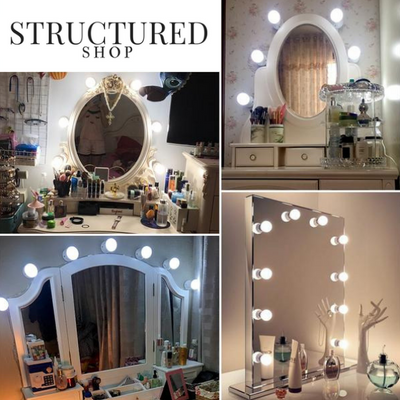 StructuredShop beauty HOLLYWOOD MIRROR LIGHTS