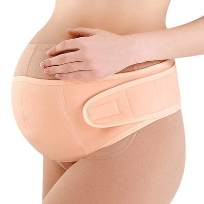 StructuredShop belly band Pregnancy Belly Support Belt Orange / L