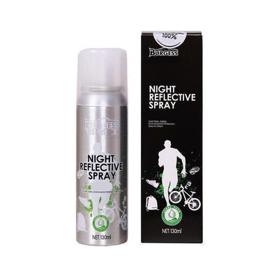 StructuredShop bicycle WASHABLE PREMIUM NIGHT REFLECTIVE SPRAY Silver (Non-Permanent)