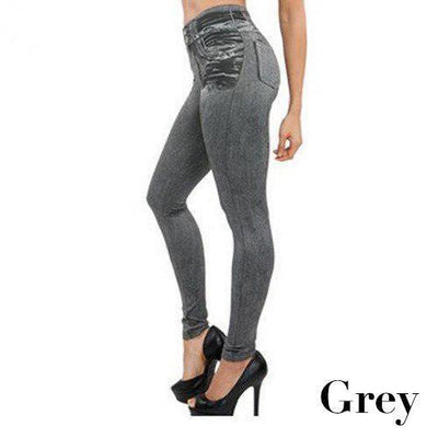 StructuredShop body shaping Jeggings - Super Comfortable Jean Leggings