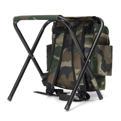 StructuredShop camping Foldable Backpack Chair For Outdoor Activities