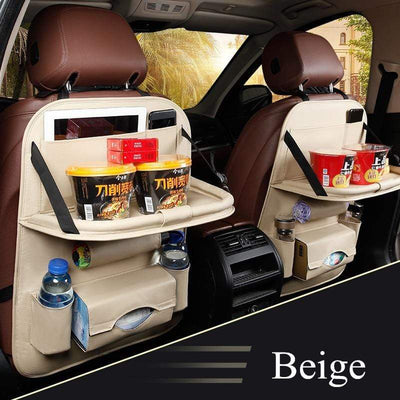 StructuredShop car organizer Premium All-In-One Car Organizer Beige