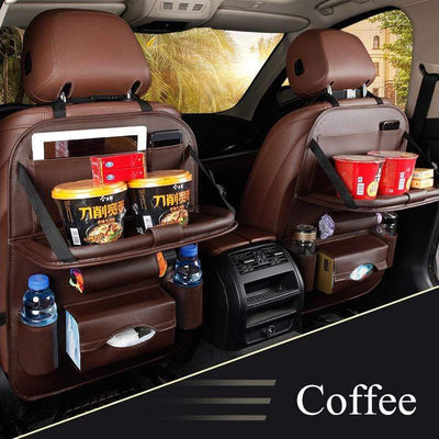 StructuredShop car organizer Premium All-In-One Car Organizer Coffee
