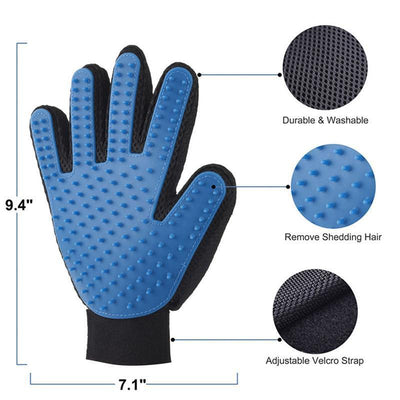 StructuredShop dogs QUALITY CLEANING GLOVES FOR PETS