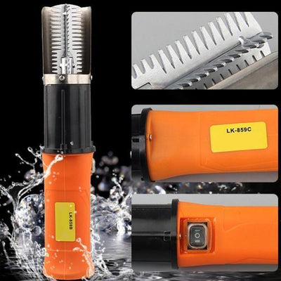 StructuredShop fishing Waterproof Electric Fish Scaler