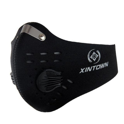 StructuredShop fitness Professional Hardcore Training Mask Black