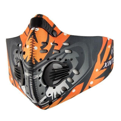 StructuredShop fitness Professional Hardcore Training Mask Extreme Orange