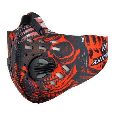 StructuredShop fitness Professional Hardcore Training Mask Extreme Red