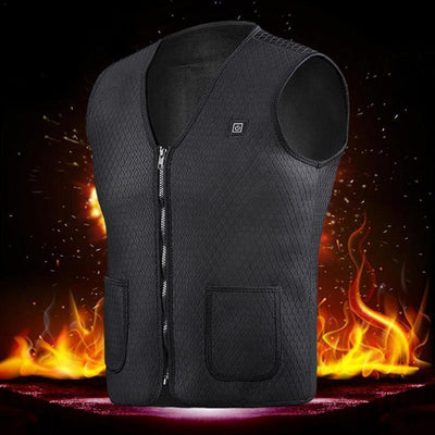 StructuredShop heated jacket Genuine Heated Rechargeable Vest For Men And Women