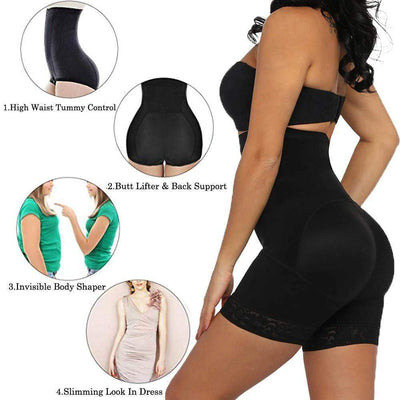 StructuredShop HIGH-WAIST BODY SHAPER - TUMMY CONTROL SHAPEWEAR (U1)