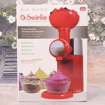 StructuredShop instant ice-cream machine Instant Ice-Cream Automatic Machine