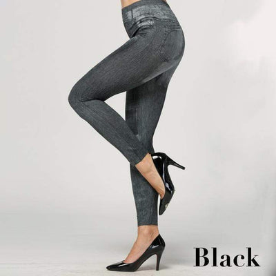 StructuredShop Jeggings - SUPER COMFORTABLE JEAN LEGGINGS (U1)