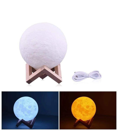 StructuredShop lamp moon The Majestic 3D Moon Lamp