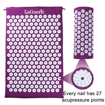 StructuredShop massage/relaxation Professional Acupressure Mat And Pillow