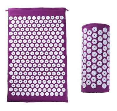 StructuredShop massage/relaxation Professional Acupressure Mat And Pillow Complete Set