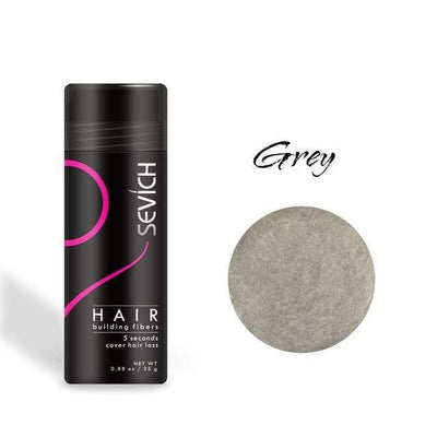 StructuredShop men hair Top Quality Hair Loss Fibers - 100% Natural grey