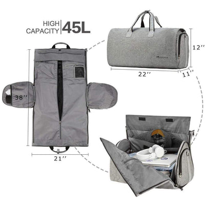 StructuredShop Modoker™ - THE PERFECT ALL-IN-ONE DUFFLE BAG (U1)