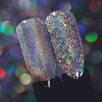 StructuredShop nails PREMIUM HOLO GLITTER NAIL POWDER
