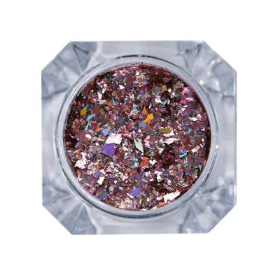 StructuredShop nails PREMIUM HOLO GLITTER NAIL POWDER Lollipop Diamonds 1g