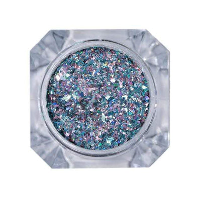 StructuredShop nails PREMIUM HOLO GLITTER NAIL POWDER Saphire Diamonds 1g