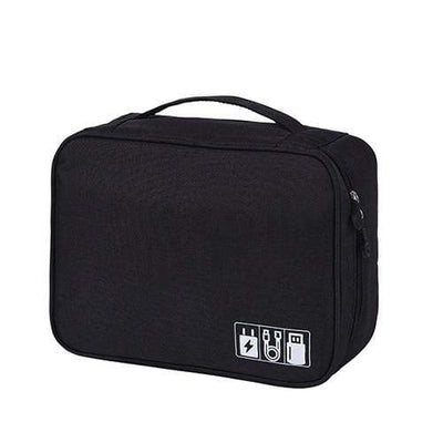 StructuredShop organizer bags The Ultimate Storage Bag Organizer Black Bag