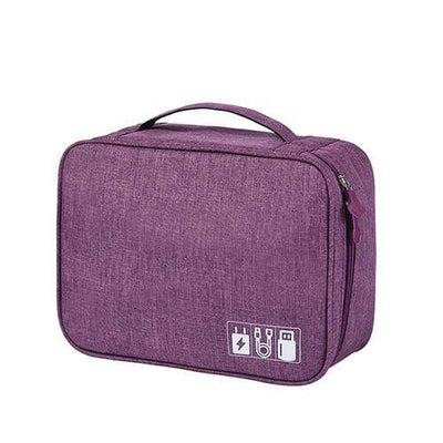 StructuredShop 154101 The Ultimate Storage Bag Organizer Purple Bag
