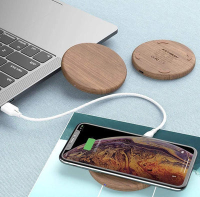 StructuredShop phone charger Fast Wooden Wireless Charger For iPhone And Android