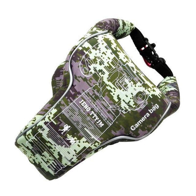 StructuredShop photography High-Quality Waterproof Camera Case CAMO / SMALL