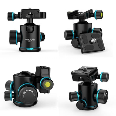 StructuredShop photography Professional 360 Degree Tripod Ball Head