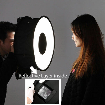 StructuredShop photography PROFESSIONAL SPEEDLIGHT SOFTBOX SOFTBOX + BAG
