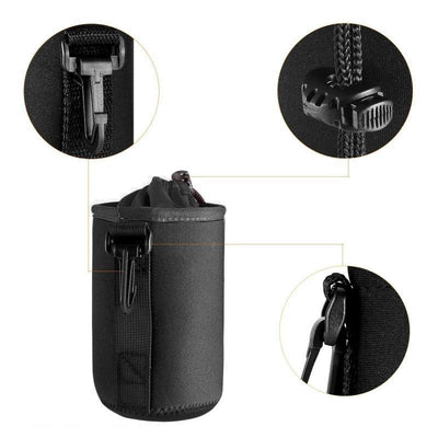 StructuredShop photography WATERPROOF CAMERA LENS POUCH