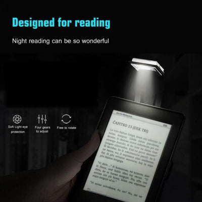StructuredShop reading Portable Reading Night Light Black