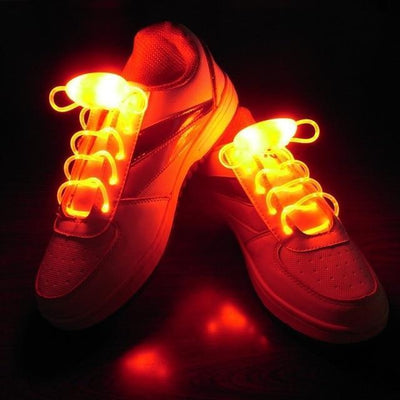 StructuredShop shoes POPULAR LED SHOELACES Red