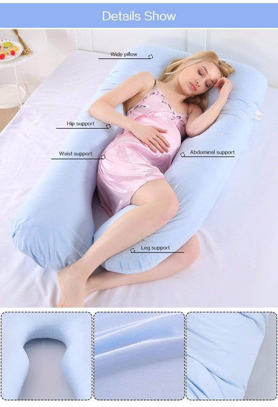 StructuredShop sleeping Super Comfy Pregnancy Pillow