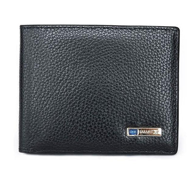 StructuredShop wallets SMARTLB™ THE SMART WALLET Litchi Black