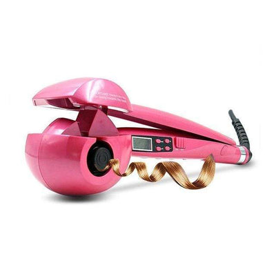 StructuredShop women hair Professional Hair Curl Machine Pink / US