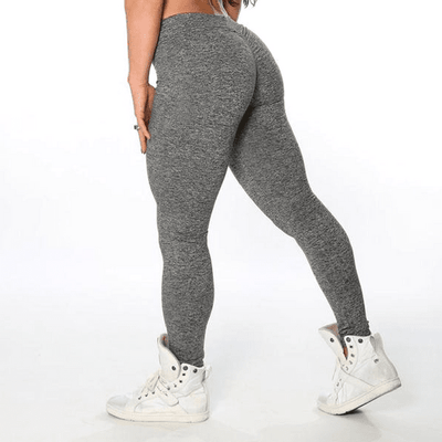 StructuredShop women leggings Super Sexy Push-Up Leggigns Light Grey / L