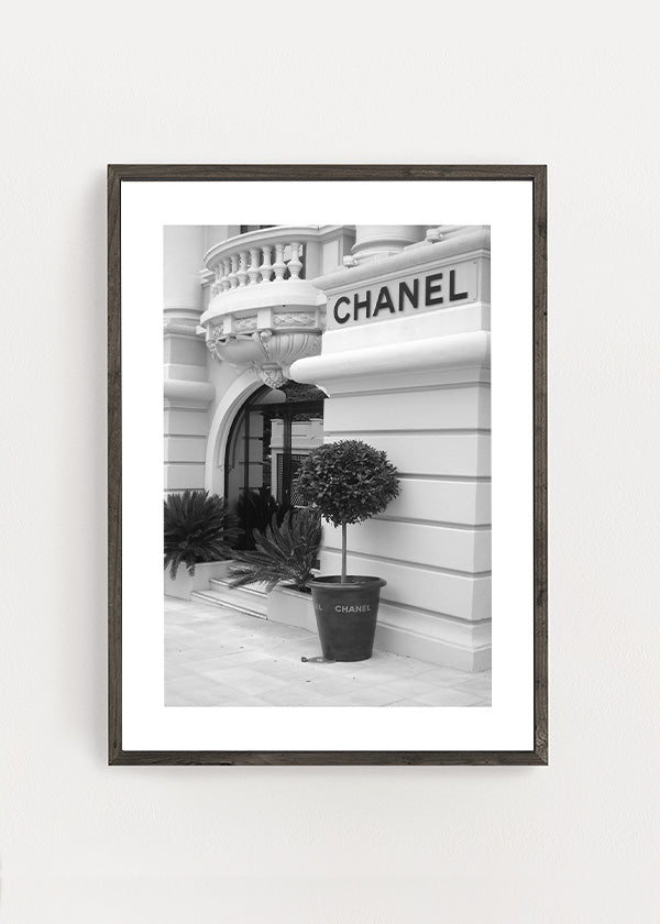 Chanel Store Front Poster