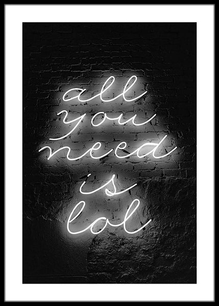 All You Need Is Lol Poster