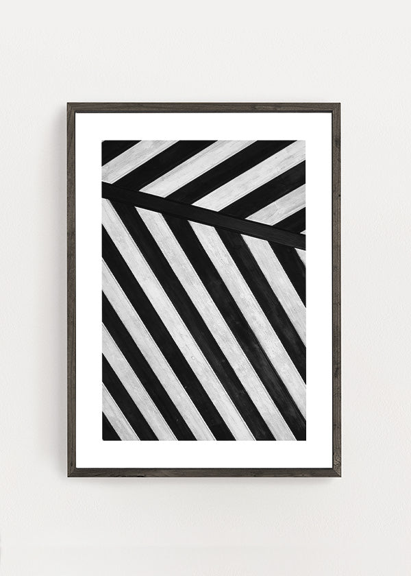 Abstract Stripes Poster