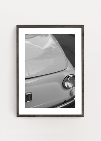 Fiat 500 Classic Poster