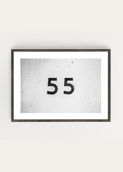 Number 55 Poster