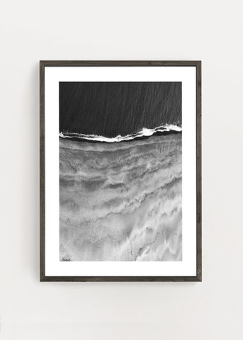 Sea And Dark Sands Poster