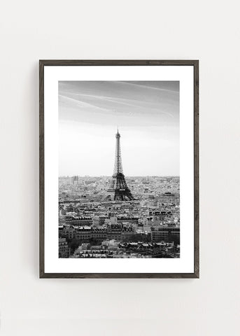 Paris City View Poster