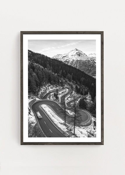 Mountain Road Poster