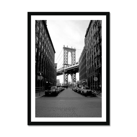 Streets of Brooklyn Framed Print