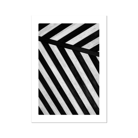 Abstract stripes Fine Art Print