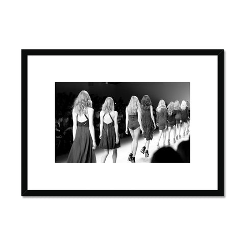 Fashion catwalk Framed Print